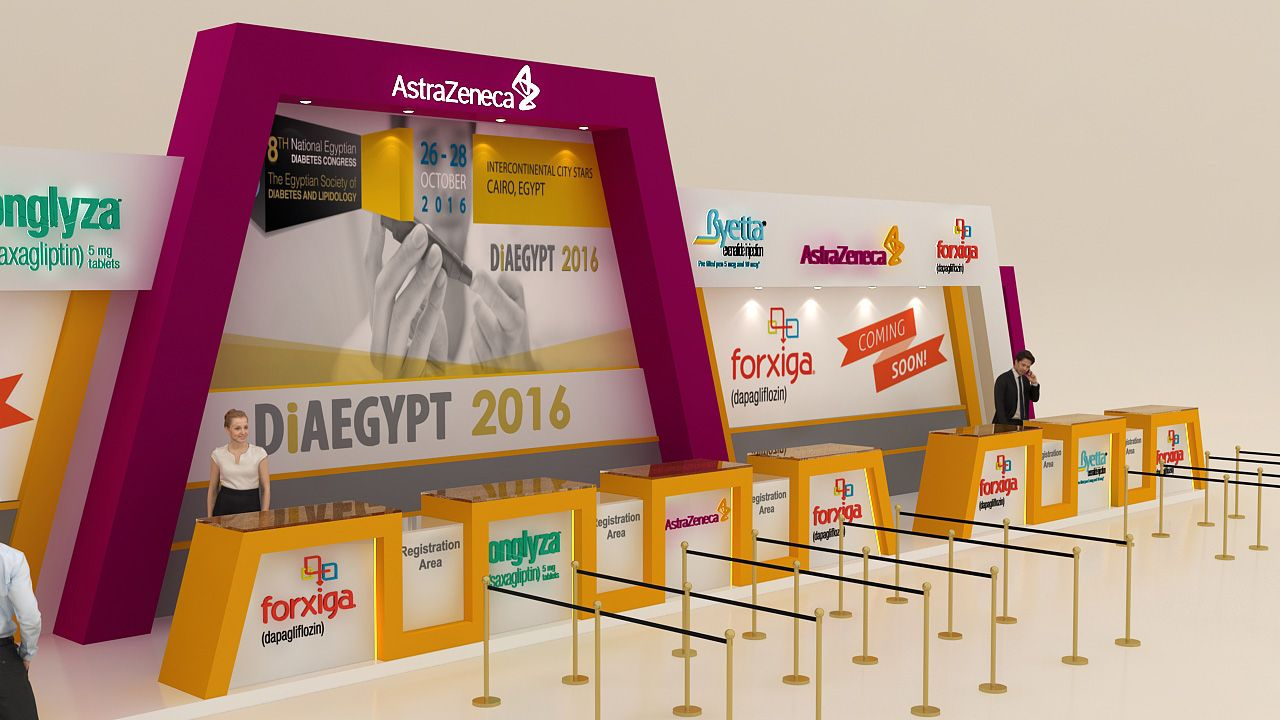 Diaegypt 2016 Event Registration Deskastrazeneca Exhibition Event Registration Registration Exhibition Design