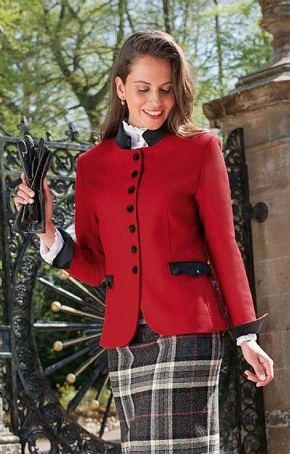 8b595a8c2 House of Bruar Ladies Tweed Kilt Jacket Kilt Jackets, Prep Style, Blazer  Fashion,