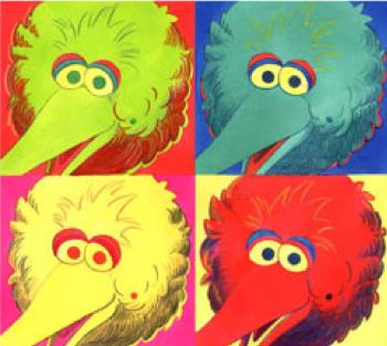 Andy Warhol: Four Big Birds