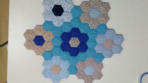 Tapete hexagonos
