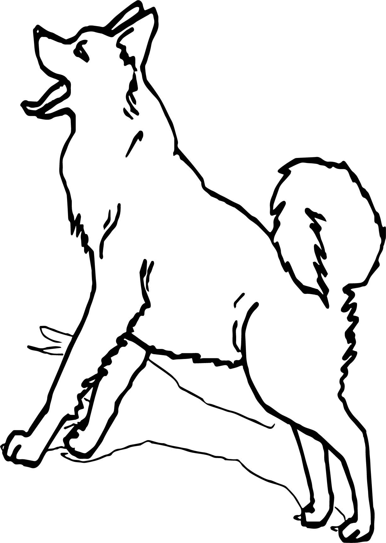 Cool Alaska Siberian Husky Coloring Page Dog Coloring Page Animal Coloring Pages Puppy Coloring Pages [ 1726 x 1226 Pixel ]