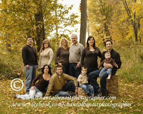 Fall family portrait idea like the color scheme and the wagon idea for the kids