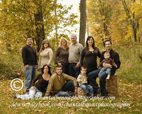 Fall family portrait idea like the color scheme and the wagon idea for the kids
