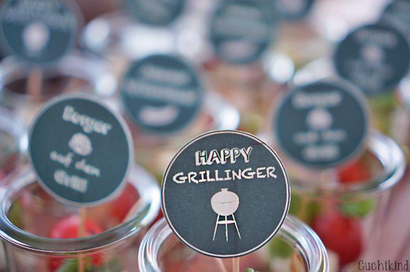 mini-deko für die grillparty (printables) | deko, minis und, Garten und Bauen