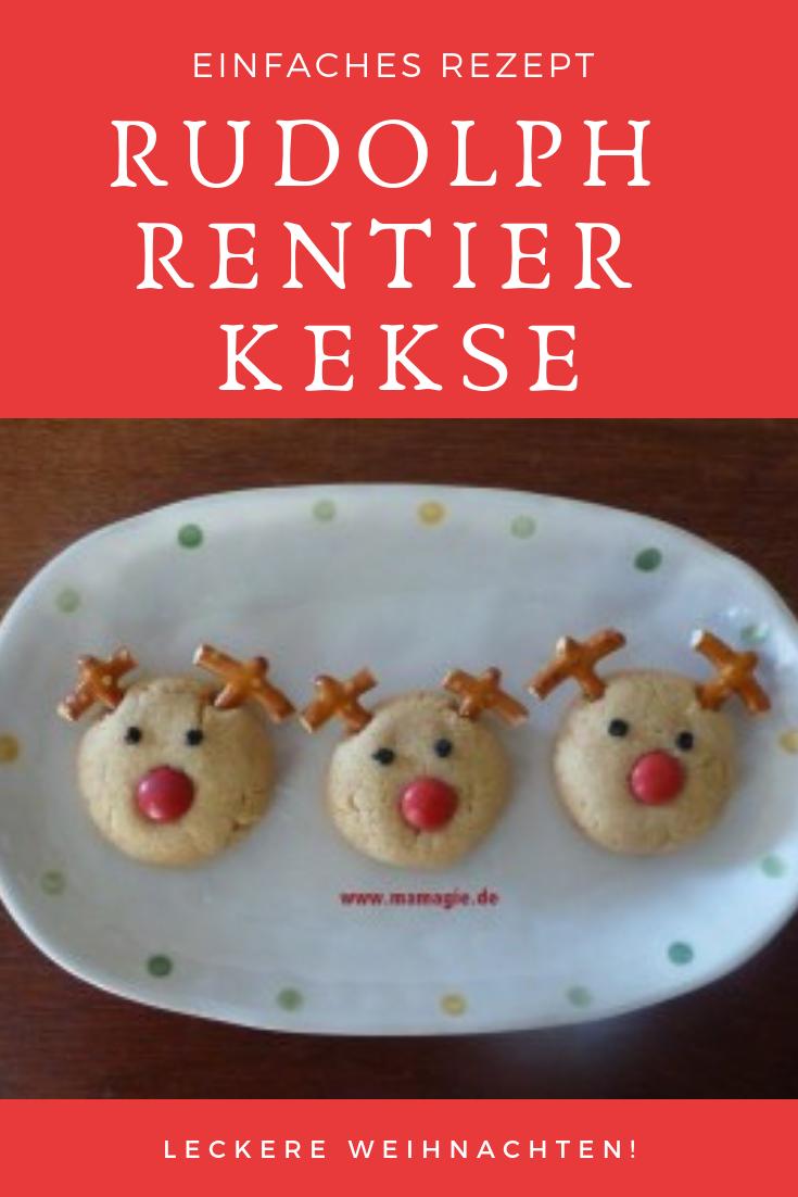 Kinder Weihnachtsgebäck.Rudolph Rentier Kekse Diy Und Rezepte Für Weihnachten Rezepte