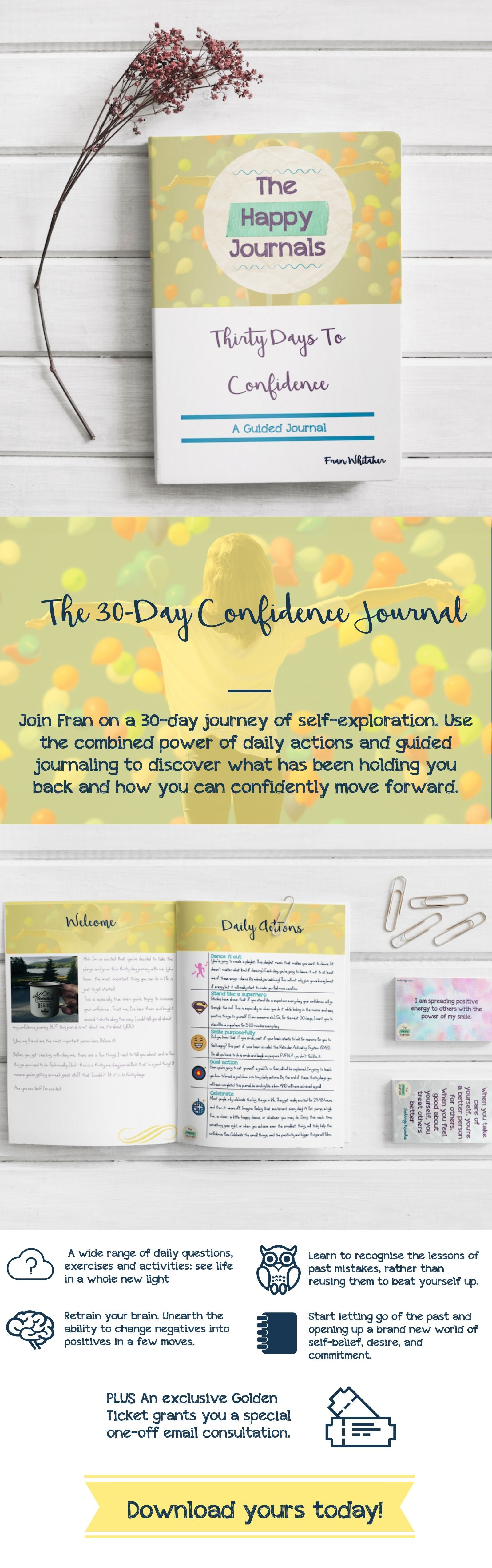 Join The Happy Journals On A 30 Day Journey Of Self