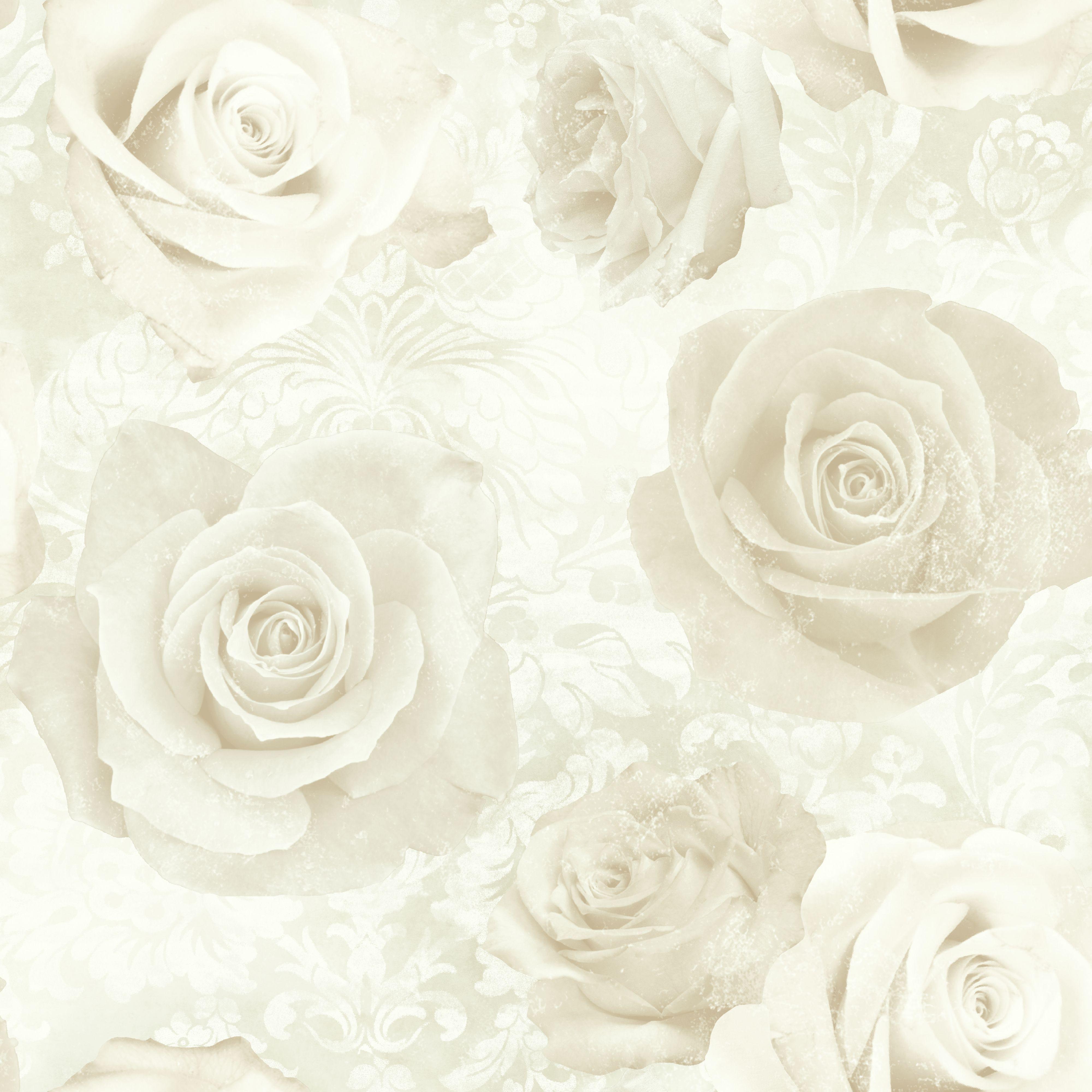 Best Unlimited Reverie Cream Wallpaper Departments Diy At B Q Cream Wallpaper Diy Wallpaper 400 x 300