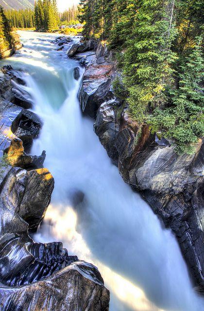 Where Is Numa Falls Canada On The Map Numa Falls Kootenay National Park, Canada | Recent Photos The