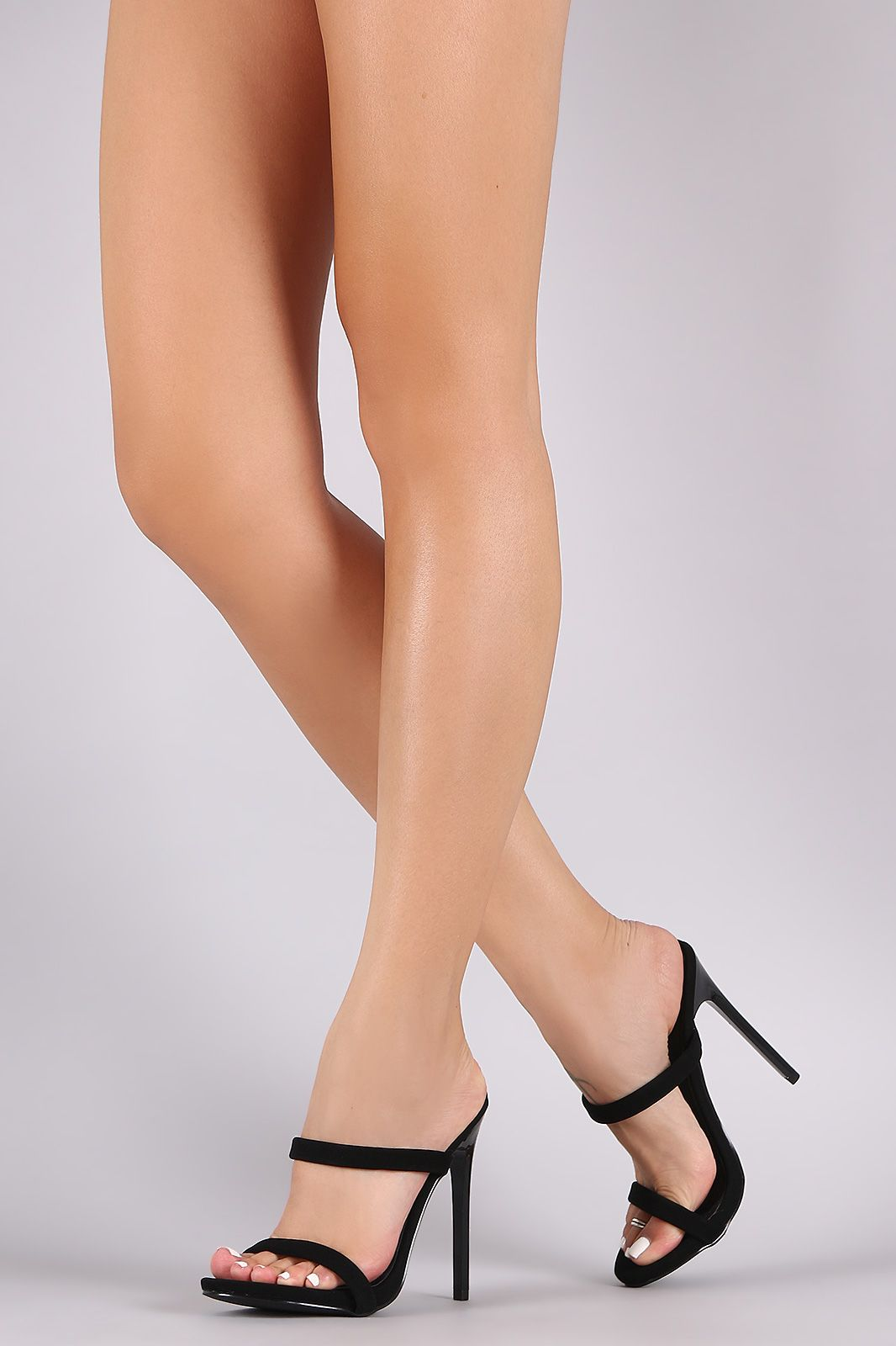 Breckelle Nubuck Lace Up Gladiator Flat Sandal