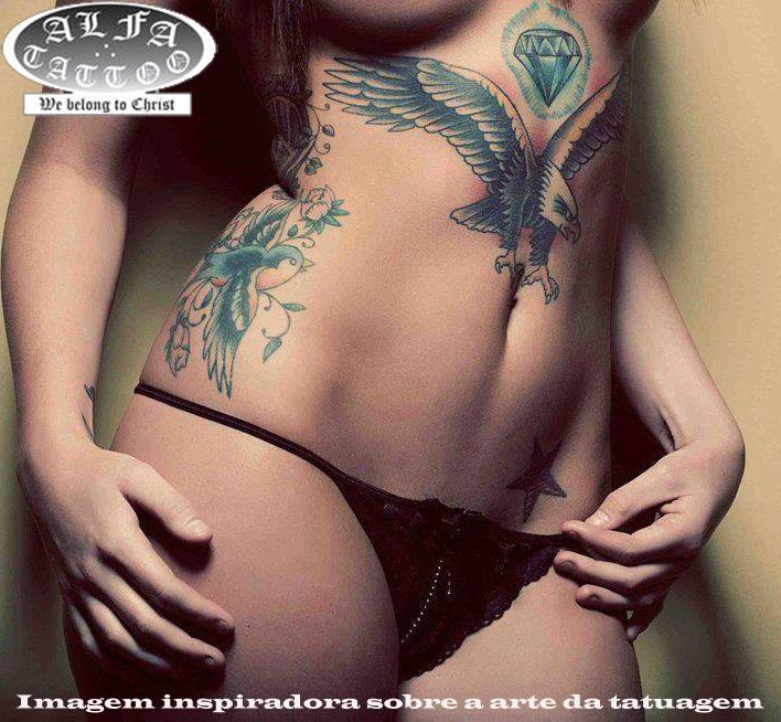 tatuagens feminas no peito - Pesquisa Google