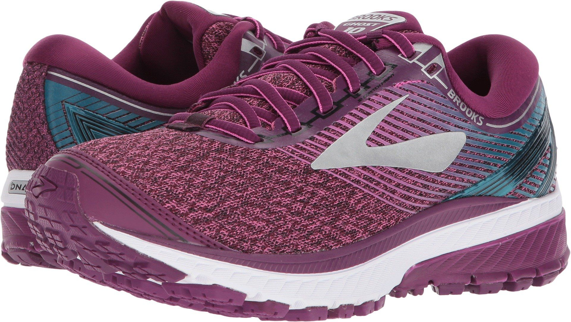 5d5e206e2495c Brooks Womens Ghost 10 Purple Pink Teal 7 B US -- You can get additional  details at the image link. (This is an affiliate link)