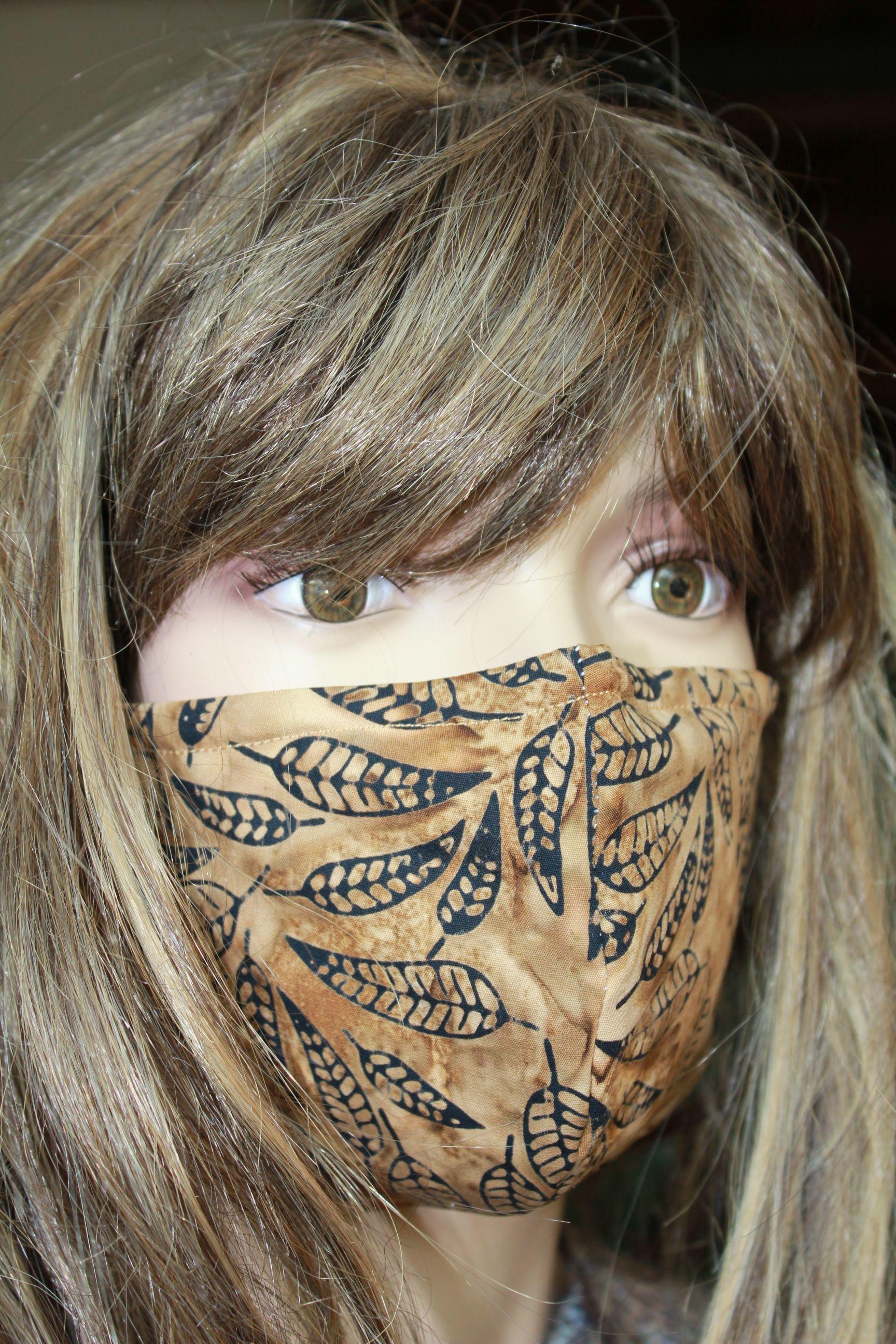 Gesichtsmaske für Djungelmädchen ;))