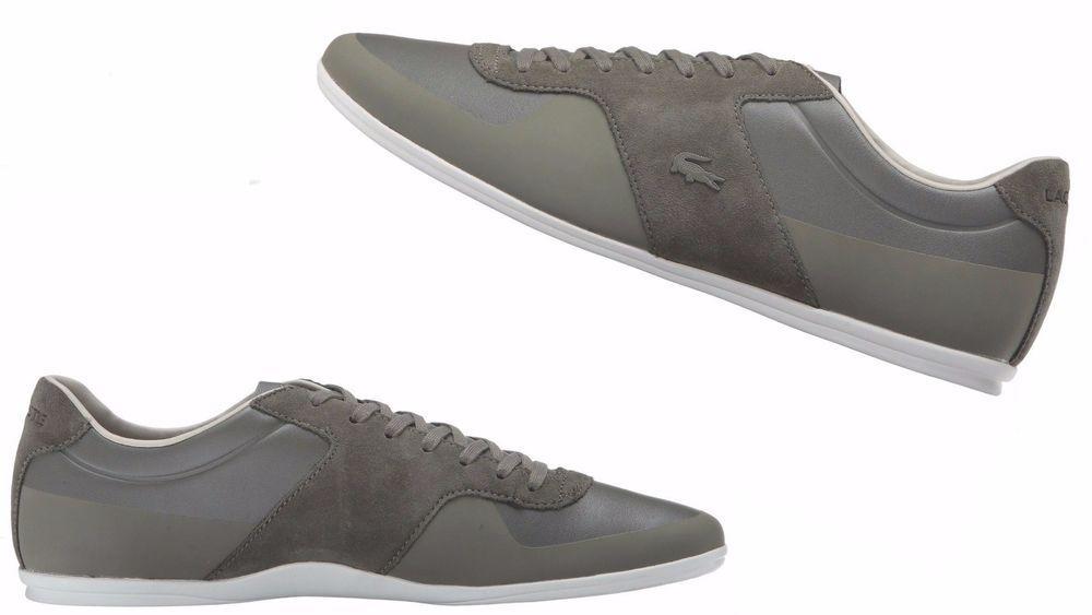 Men S Lacoste Turnier 316 1 Leather Shoes 7 32cam00521x5 Khaki Lacoste 732cam00521x5 Leather Leather Shoes Lacoste