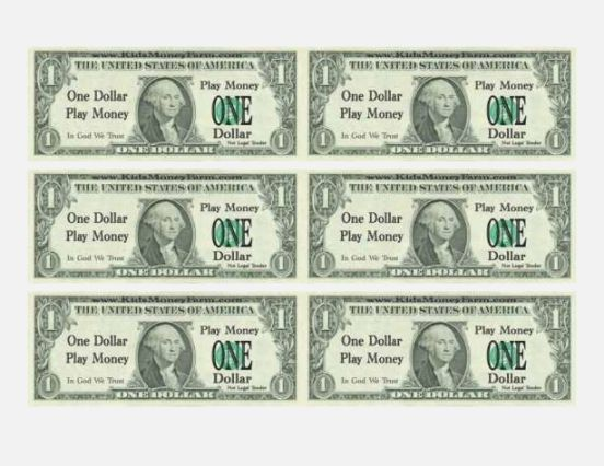 image about Printable Prop Money named Greenback Invoice Template for Instructors printable prop cash phony
