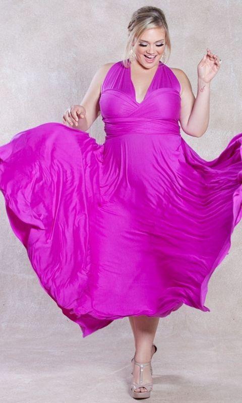 bc60044ae9cd1 SWAK Designs Sexy Eternity Wrap Maxi Party Cruise Dress Posh Plum Pink or  Aqua