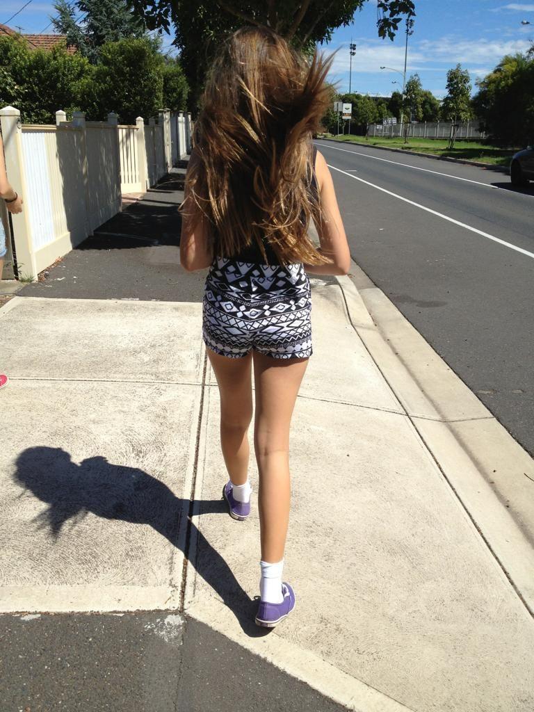 45fe46002935 messy hair - romper - white ankle socks - purple vans - I m in love ...