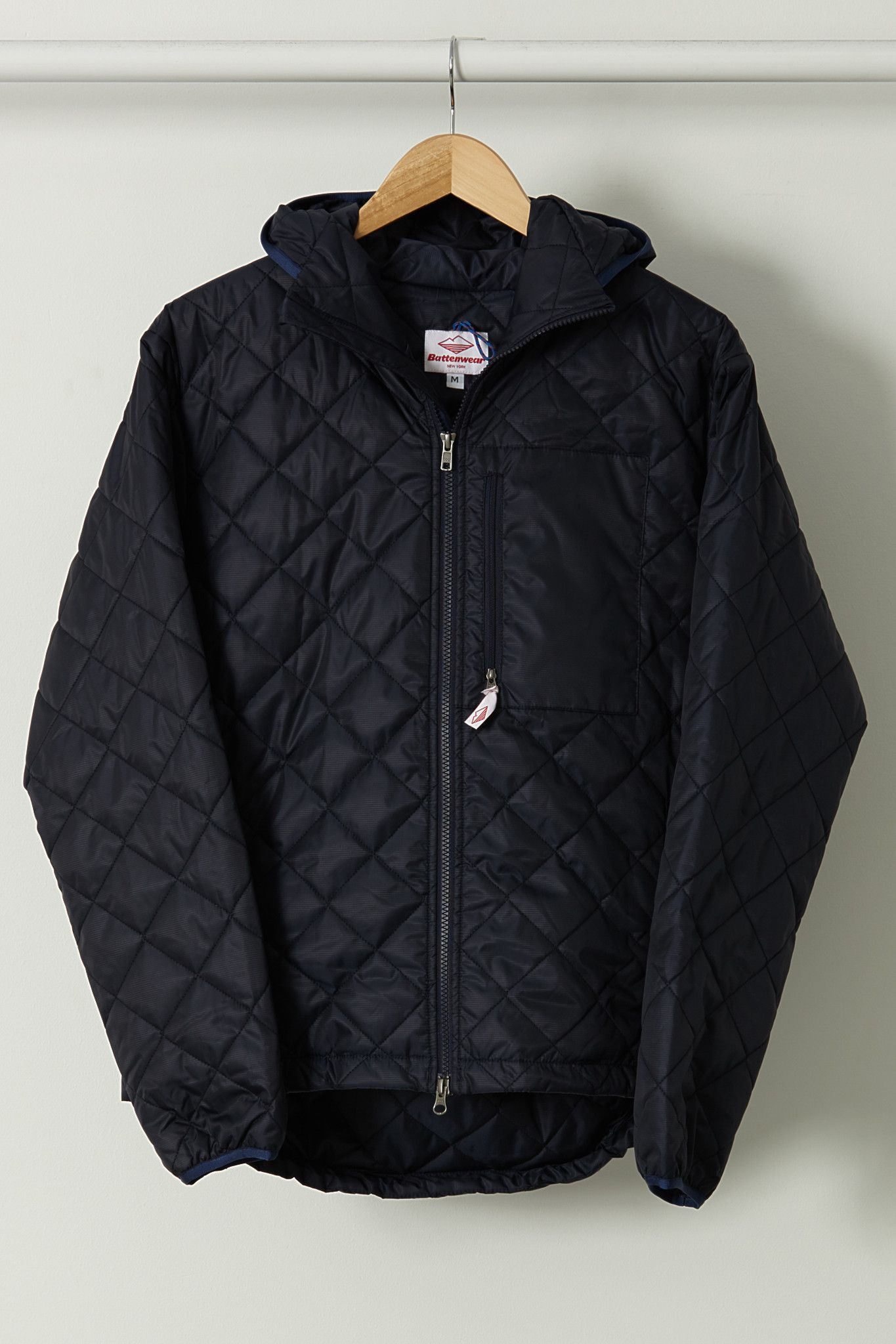 Battenwear quilted guide parka | grailed.