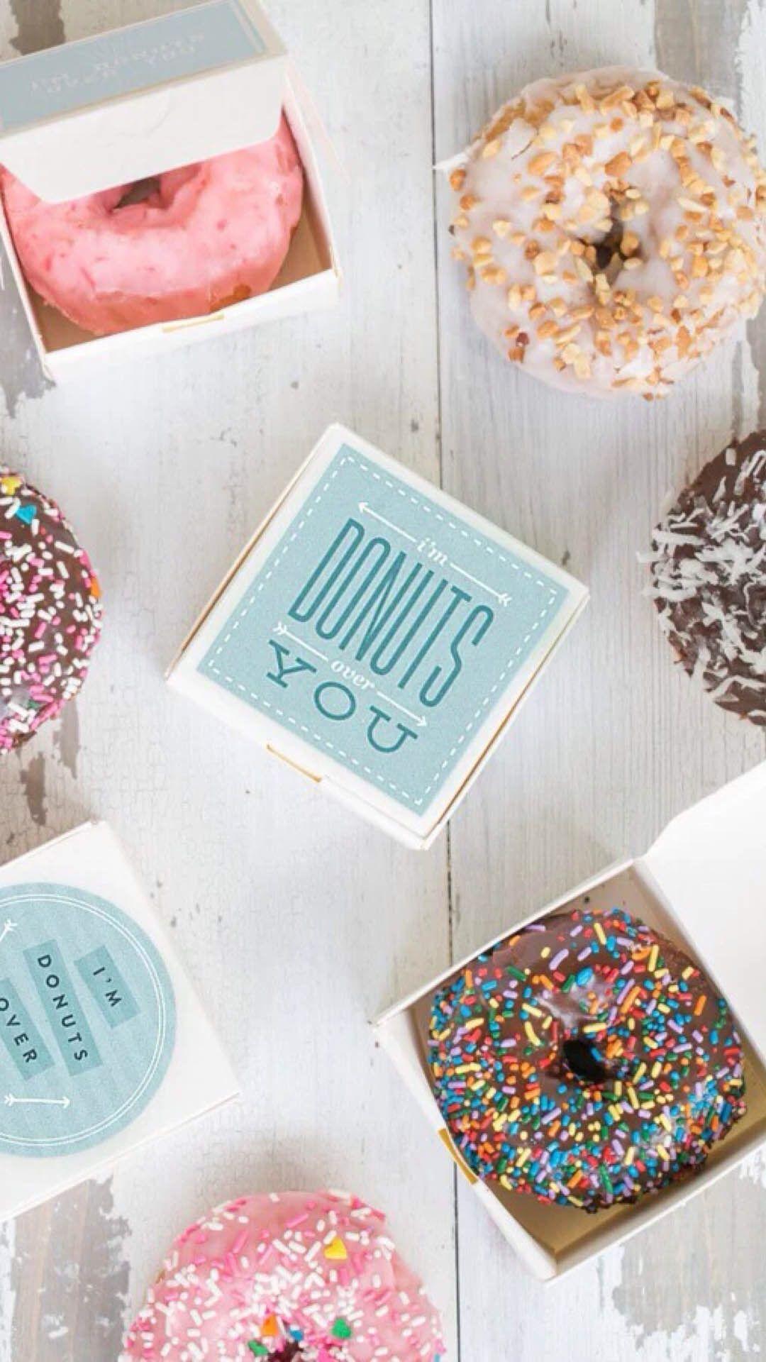 Pin by Mrs Konopatskaya on Sweet | Pinterest | Donuts, Doughnuts and ...
