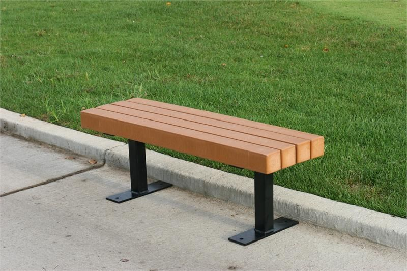 Good Park Bench Ideas Part - 5: Recycled Plastic Park Benches Design Ideas