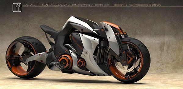 Street Bike Design On Behance Concept Motorcycles Futuristic