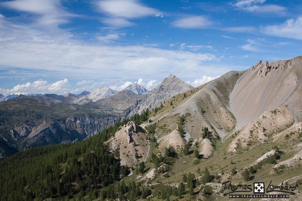 vu depuis le Col de l'Izoard   par thomaslombard.com