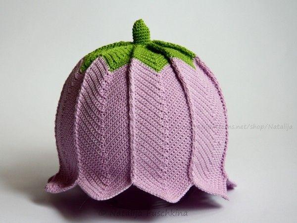 Mütze selber häkeln - Glocken-Motiv-DIY ☆ | Häkeln | Pinterest ...