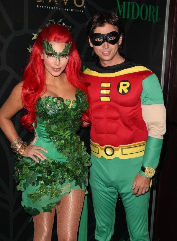 best celebrity friend halloween costumes of al time - Green Halloween Dress