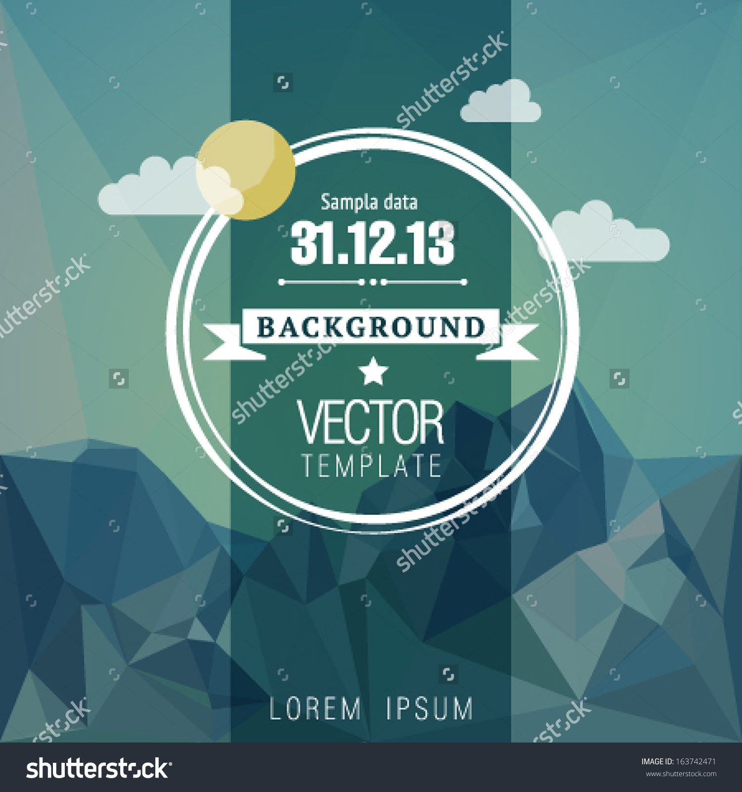 Poster design editor - Retro Design Poster Or Flyer Vector Template Illustration Stock Vector From The Largest Library Of Royalty Free Images Only At Shutterstock