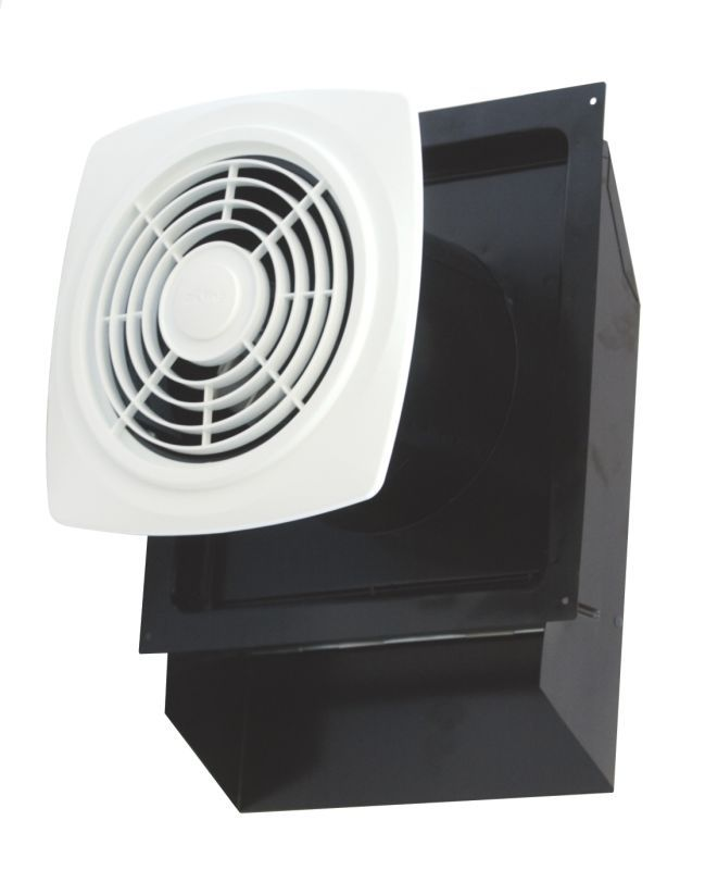 Air King Ewf 180 180 Cfm Hvi Certified 6 5 Sone Through The Wall Exhaust Fan Wit White Fans Exhaust Fan Utility Bath Fan Wall Exhaust Fan Bathroom Fan