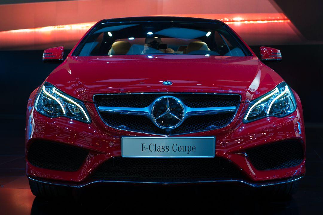 Mercedes E-Class Coupe - Say hi!
