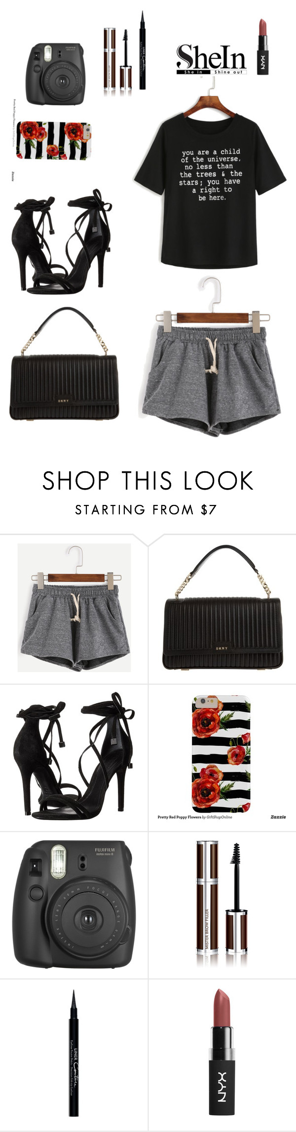 """Bez naslova #53"" by nency-484 ❤ liked on Polyvore featuring DKNY, Schutz, Fujifilm, Givenchy and WithChic"
