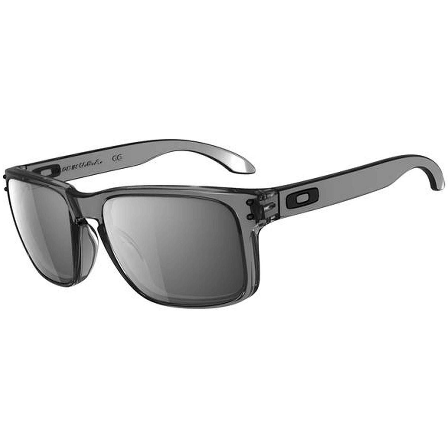 4e82a922217 Oakley Mens Sunglasses Holbrook Grey Smoke Black Iridium ...