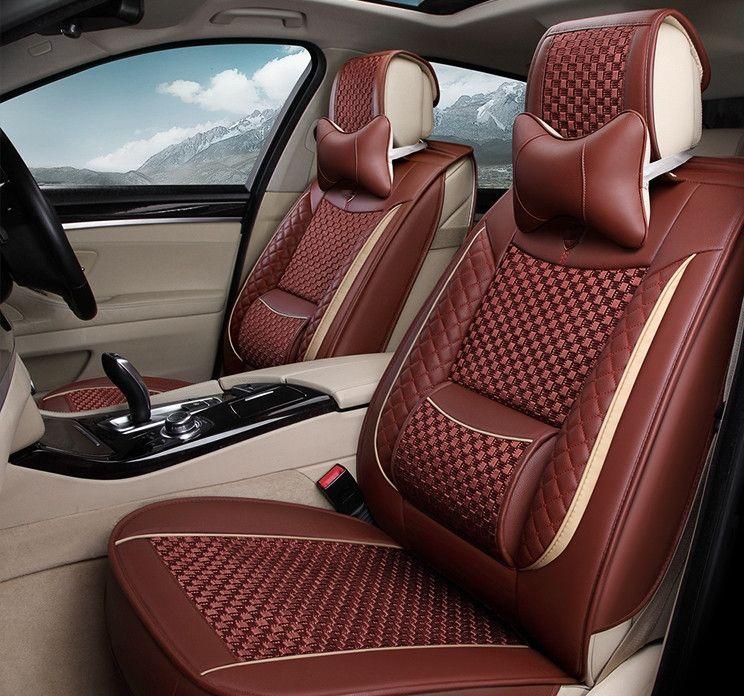 Good Quality Full Set Car Seat Covers For BMW 740Li 750Li 760Li F02 2014