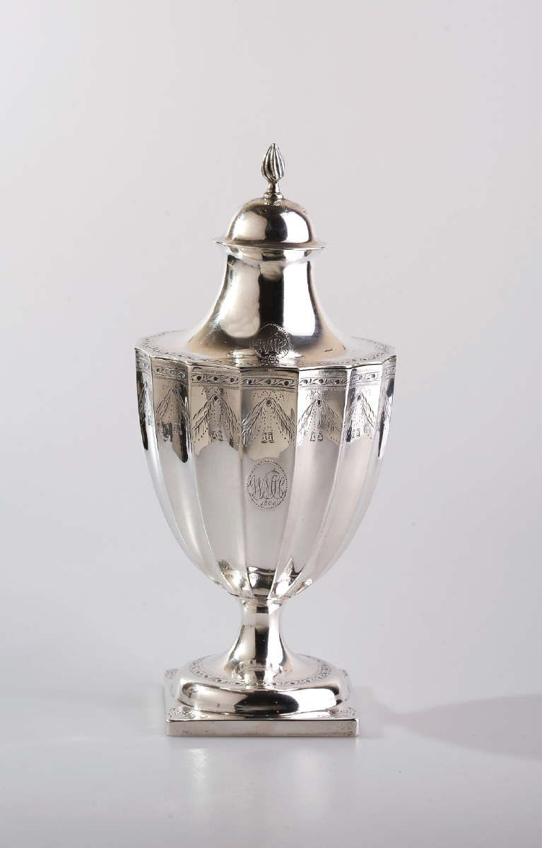 Paul Revere Sugar Urn and Cover