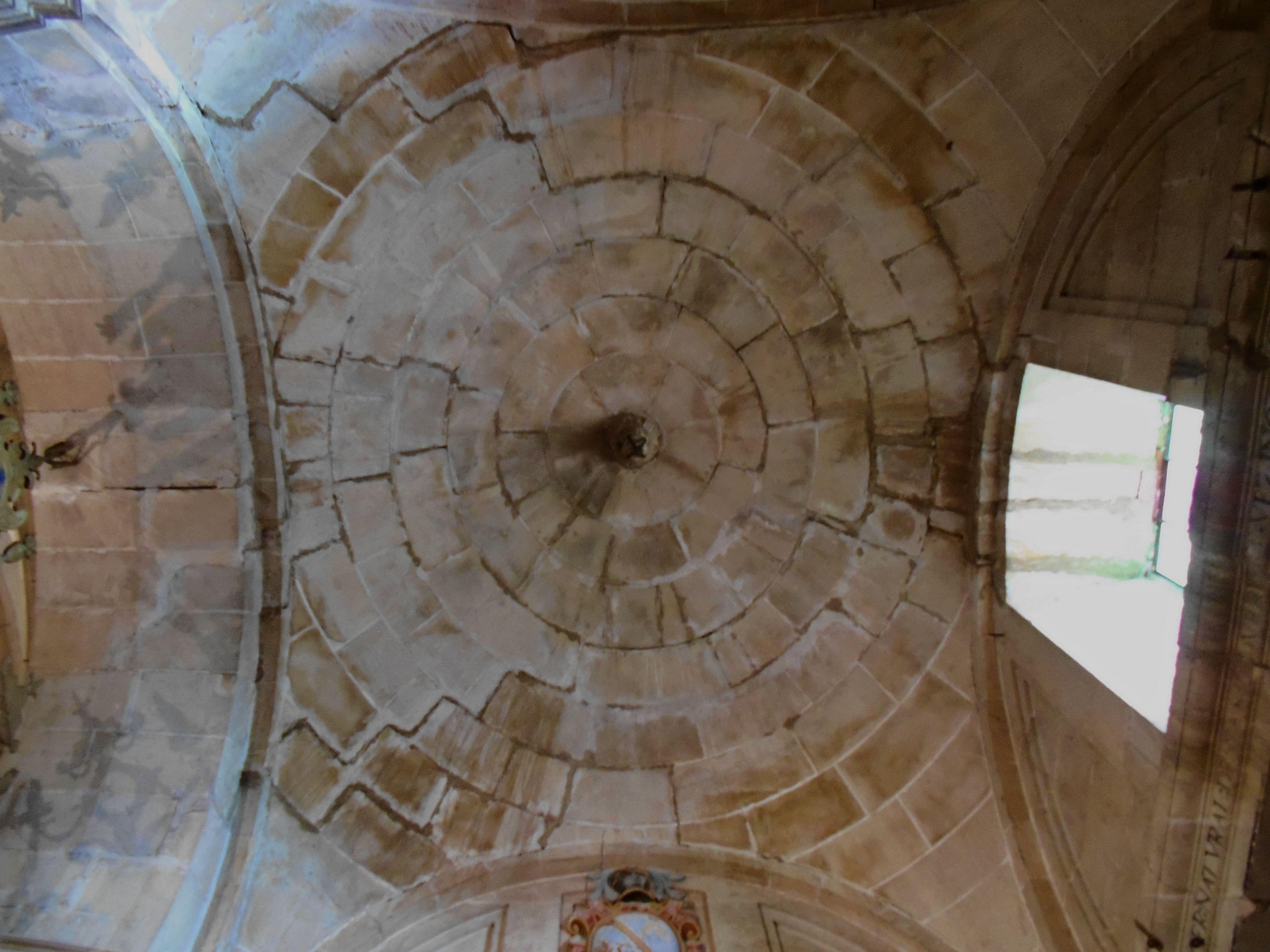 Tamajón. Iglesia de la Asunción. Capilla de los Montúfar. Bóveda