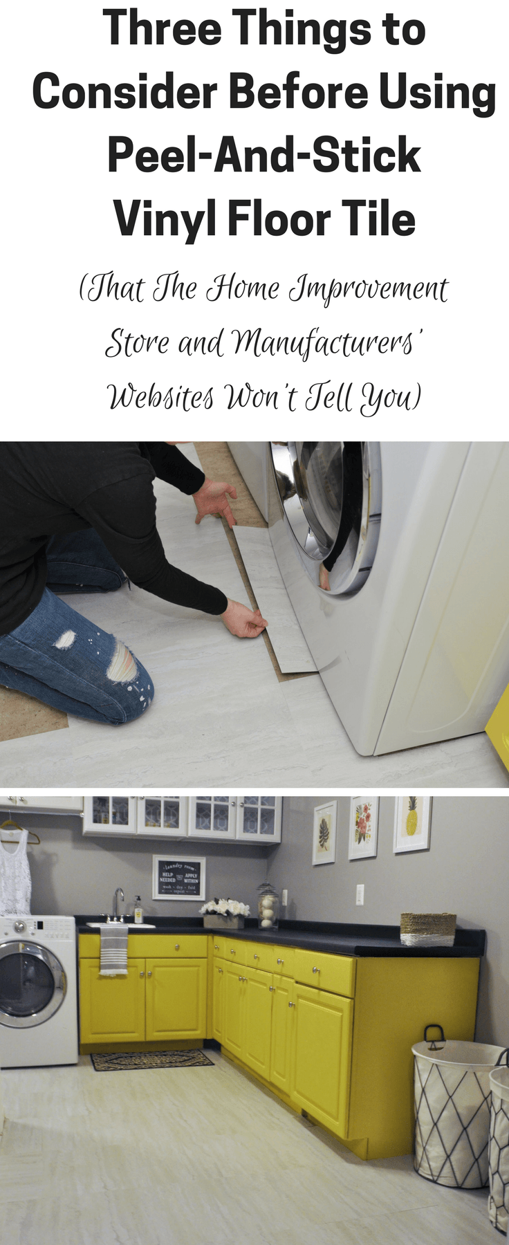 3 things you need to know before using peel and stick floor tile 3 things to consider before using peel and stick vinyl floor tile plus dailygadgetfo Choice Image