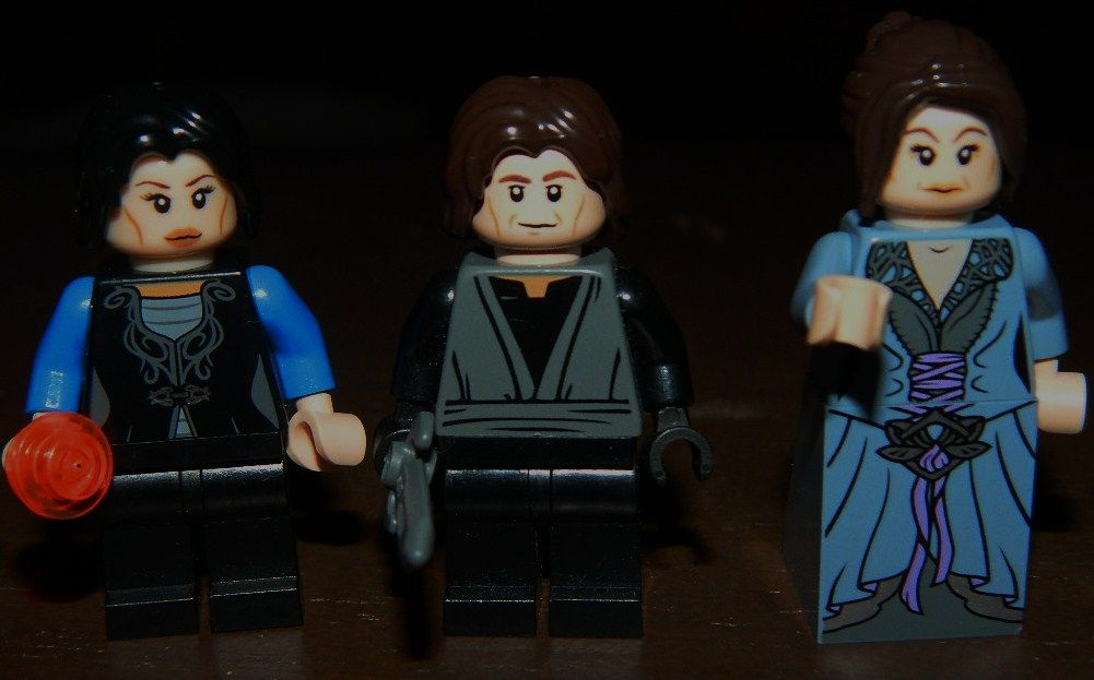 Lego Once Upon a Time Minifigures. Regina, Rumple, Cora. I ...