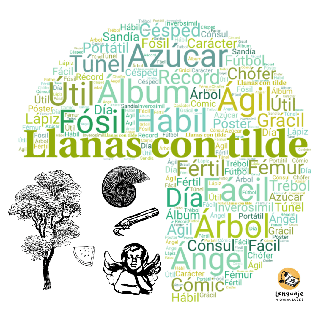 Ejemplos De Acentuación Llanas Con Tilde Teaching Home Decor Decals Poster