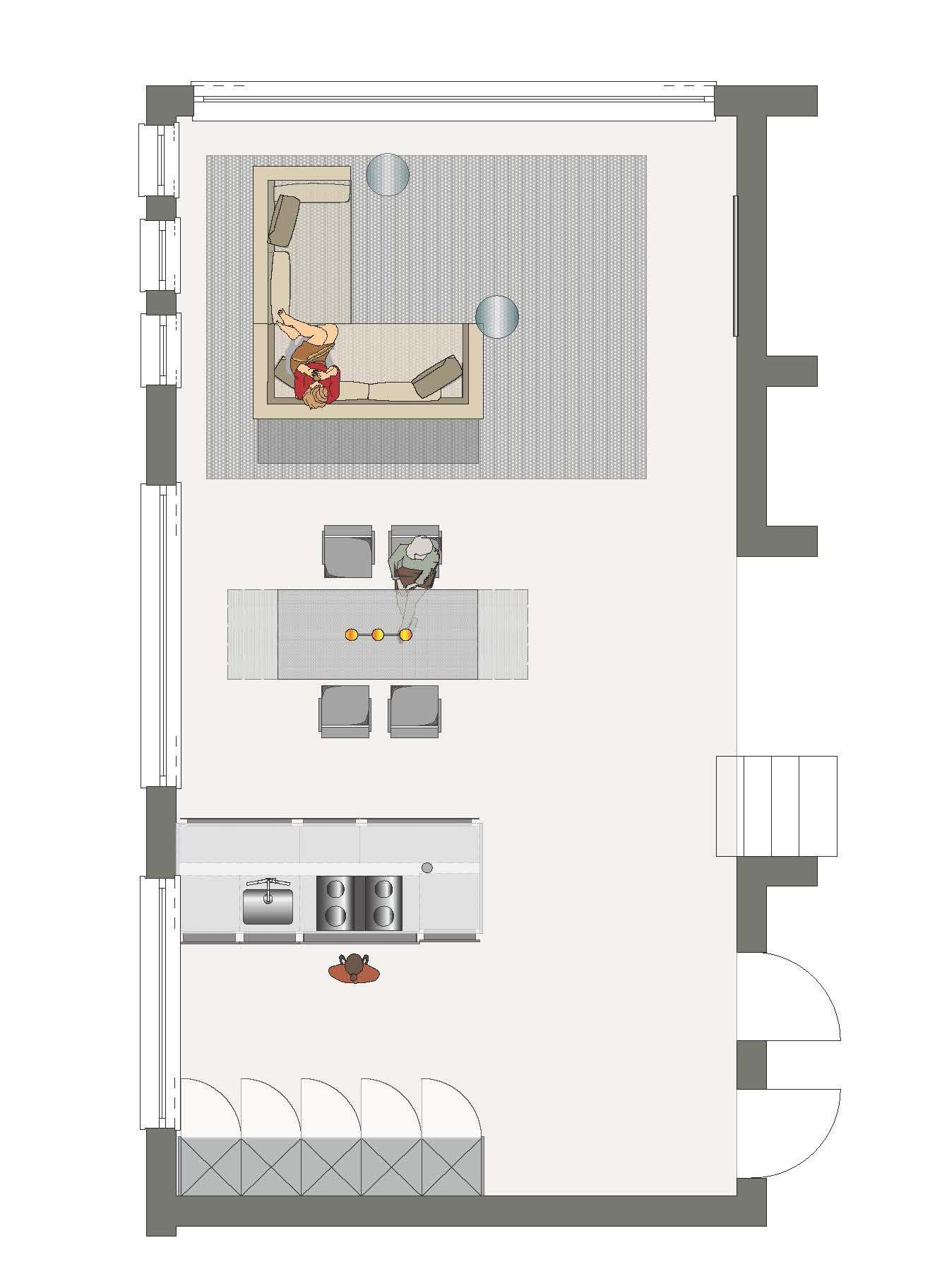 B B Möbel grundriss wohnbereich möbel b b italia mdf piure und baleri