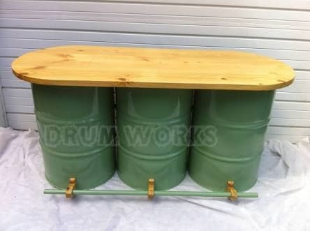 Image Result For 44 Gallon Drum Bar Table Ideas Oil Drum Drum Seat Revamp Furniture