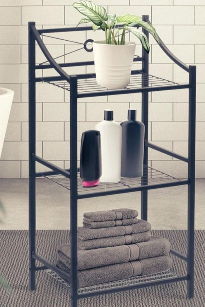 Light Table Bathroom Storage idea