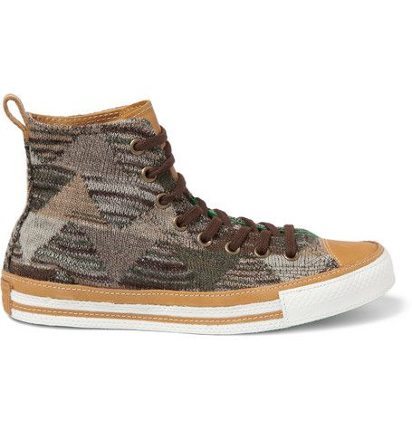 45f679967425 Converse Missoni Chuck Taylor High Top Sneakers