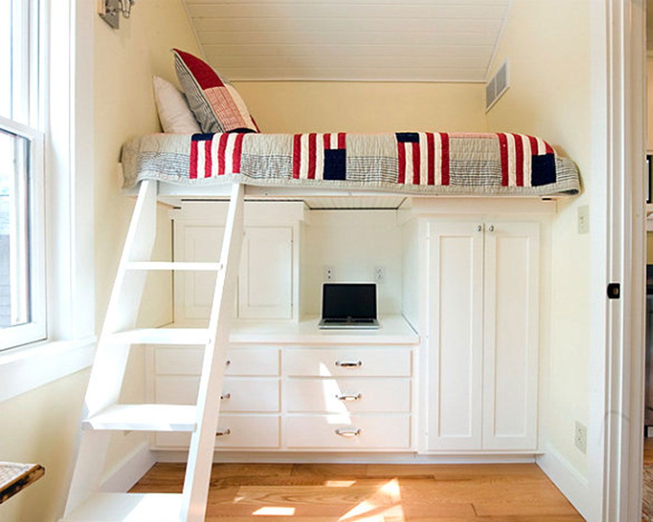 Loft Bed Ideas For Small Rooms Part - 21: Pinterest