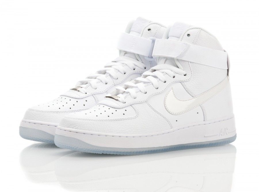 promo code 13a31 de83c Nike Air Force 1 High Triple White Ice