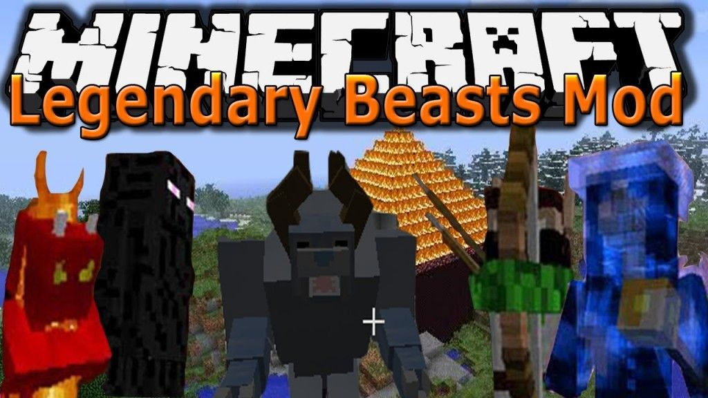 Minecraft 1 6 2 Legendary Beast Mod How To Add New Bosses Minecraft 1 Minecraft Minecraft Videos