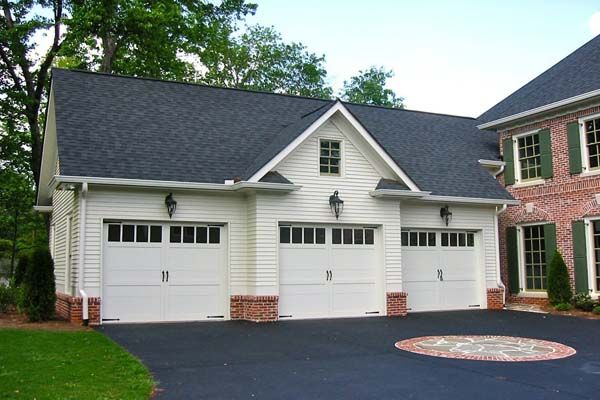 Home With Attached Garage