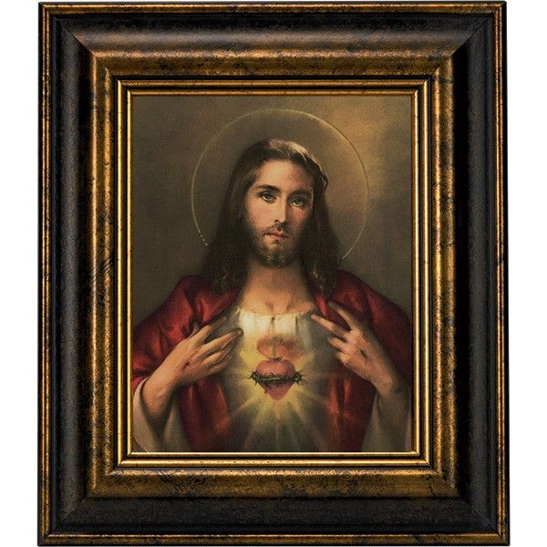 Sacred Heart Of Jesus Picture Jesus Pictures Jesus And Mary Pictures Heart Of Jesus
