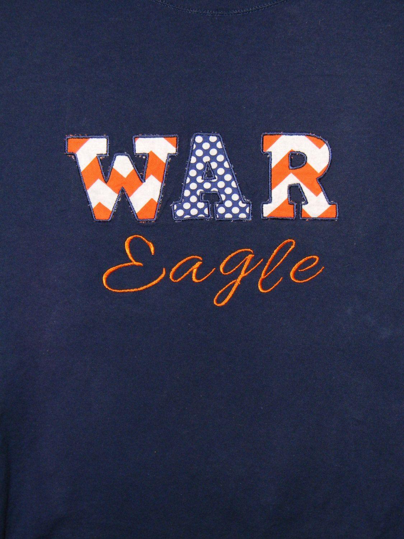 Auburn Shirt....War Eagle. by KissABelleBoutique on Etsy