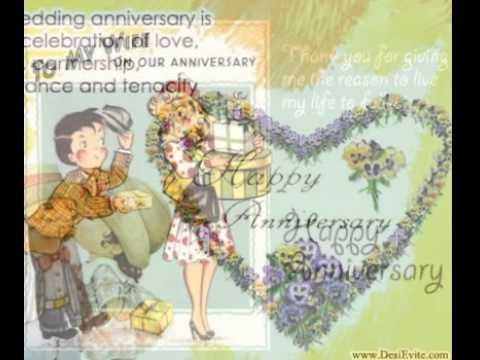Wish happy anniversary ecard with your wife and make her feel