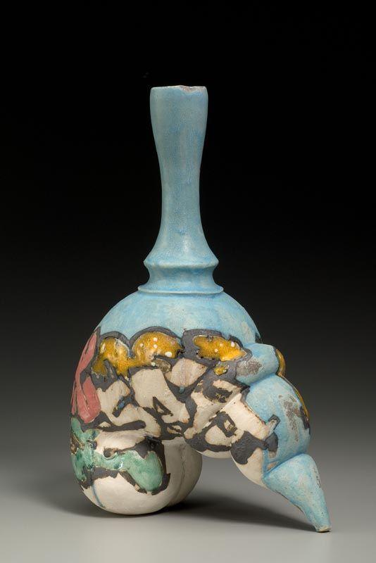 Malcolm Mobutu Smith  Taggsit  Stoneware, slip and glaze